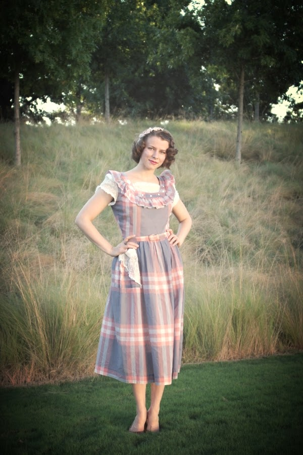 My 1940s Evening #vintage #fashion #1940s #dress #style