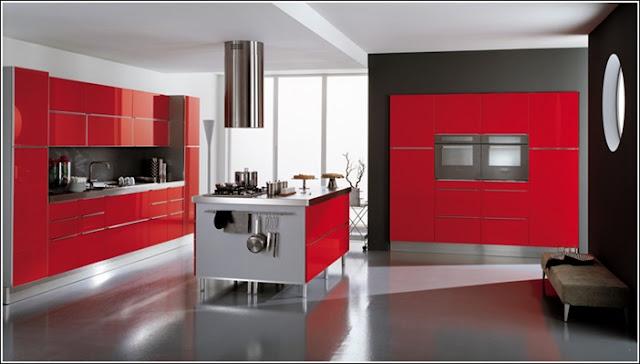 Chambre Mur Gris Et Rouge: Sur le mur avec canap? lit blanc et ...