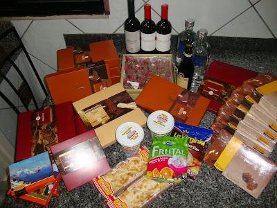 Compras de guloseimas em Bariloche