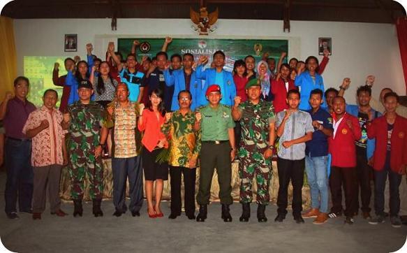 Mahasiswa di Kota Sorong Diajak Terlibat Tim Ekspedisi NKRI 2016