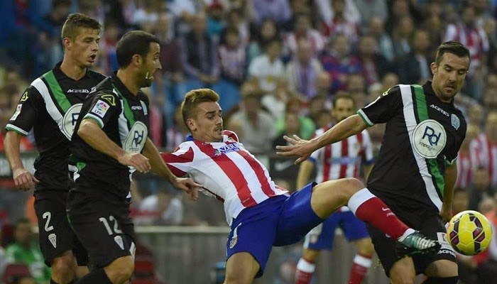 Atletico Madrid vs Cordoba en vivo