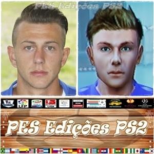 Federico Bernardeschi (Fiorentina) e Itália PES PS2