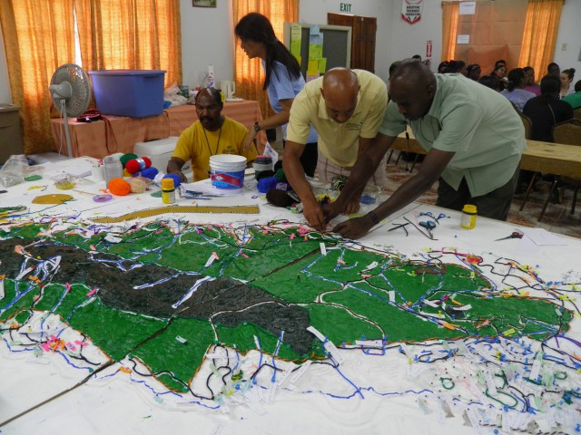 how to make a 3d model of natural disaster management