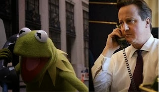 Cameron and Kermit