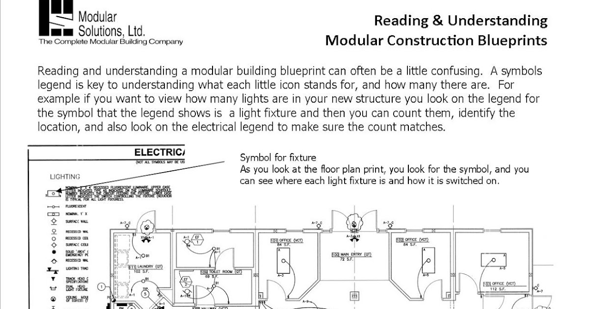 Modular solutions ltd the experts on prefabricated for Understanding blueprints