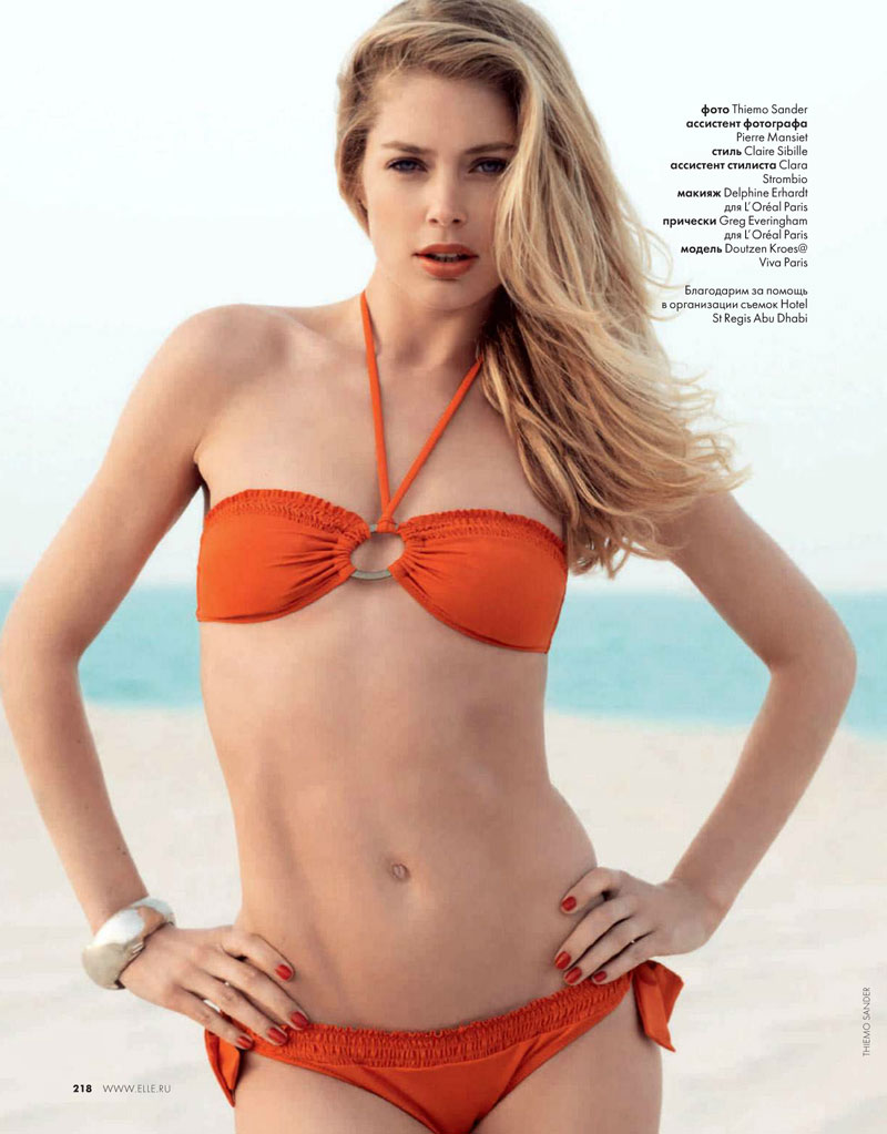 Doutzen Kroes ♥ Elle Russia June 2012
