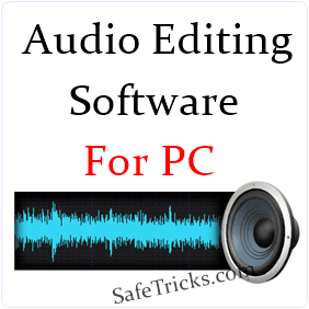 Top 7 Best Audio Editing Software For PC - 2015
