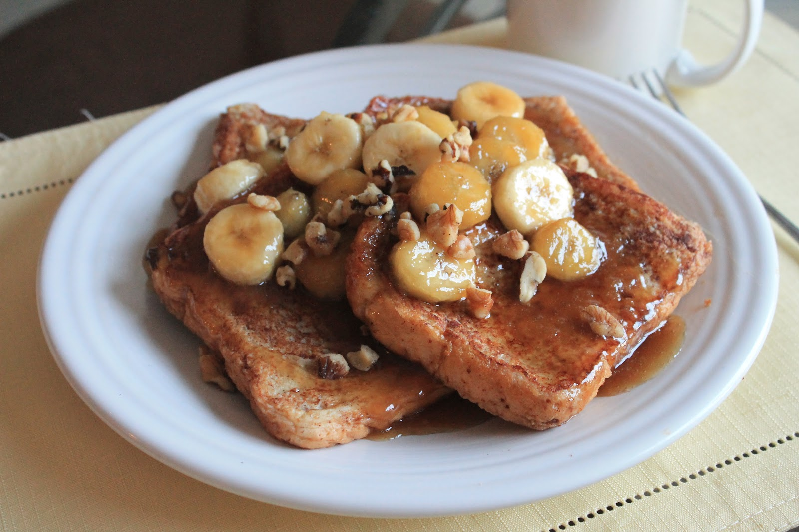 Bananas Foster French Toast Recipe — Dishmaps