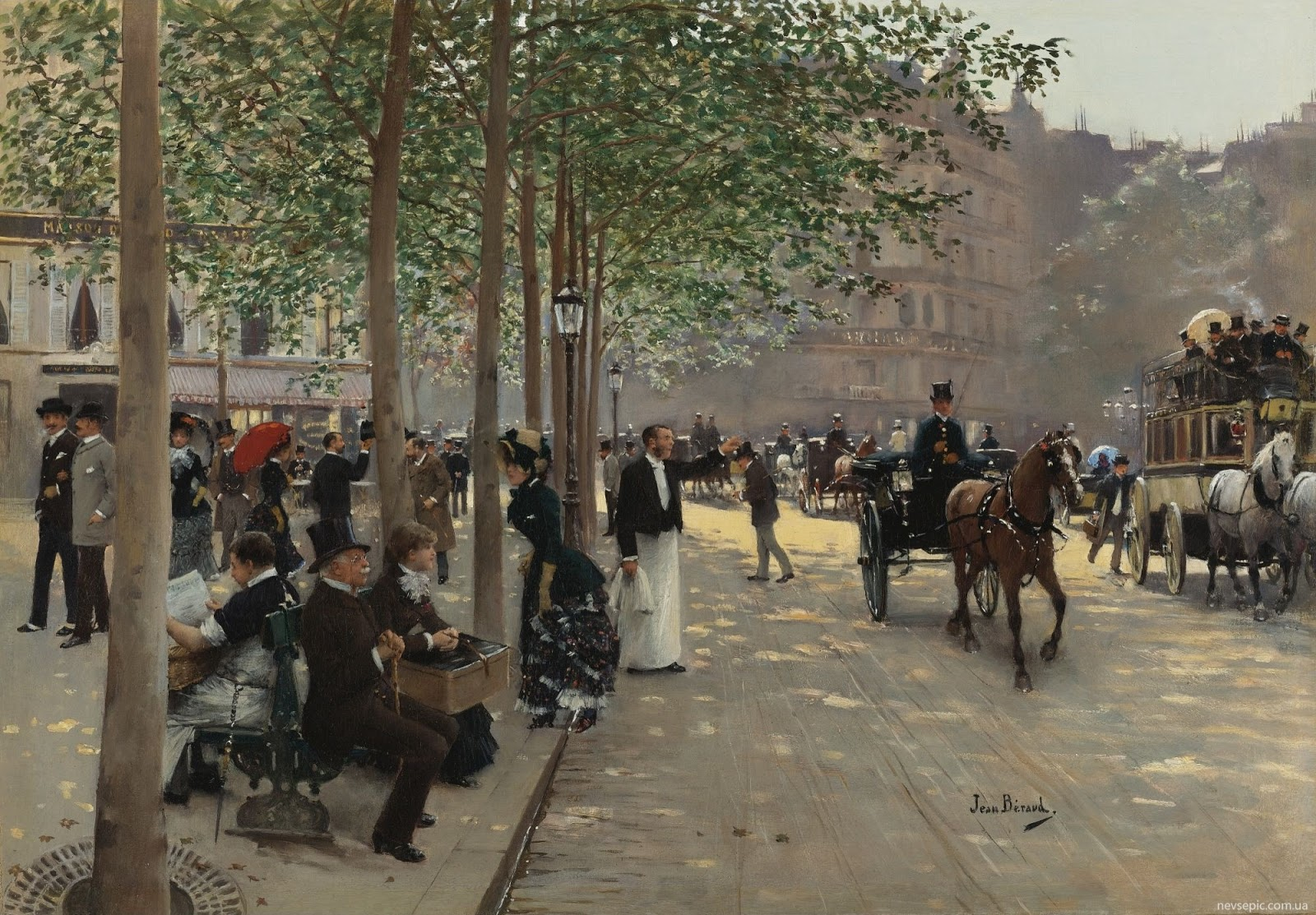 Jean   eraud  Avenue  Parisienne