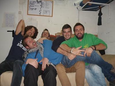 Paramento grupo rock