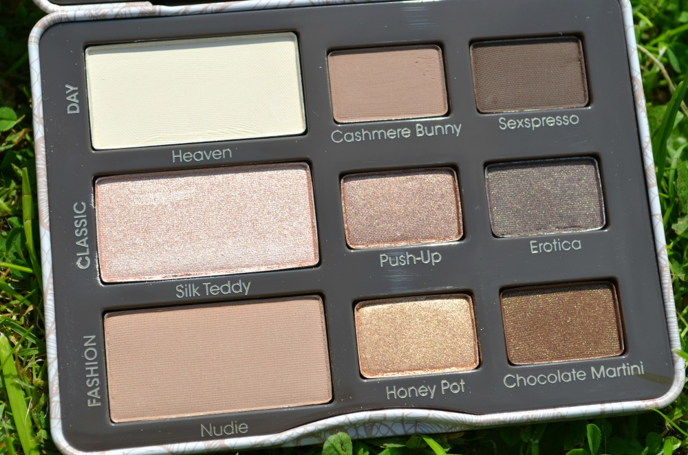 Too Faced Natural Eye Palette Review And Swatches