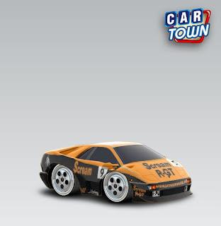 Lamborghini Diablo 1993 car town