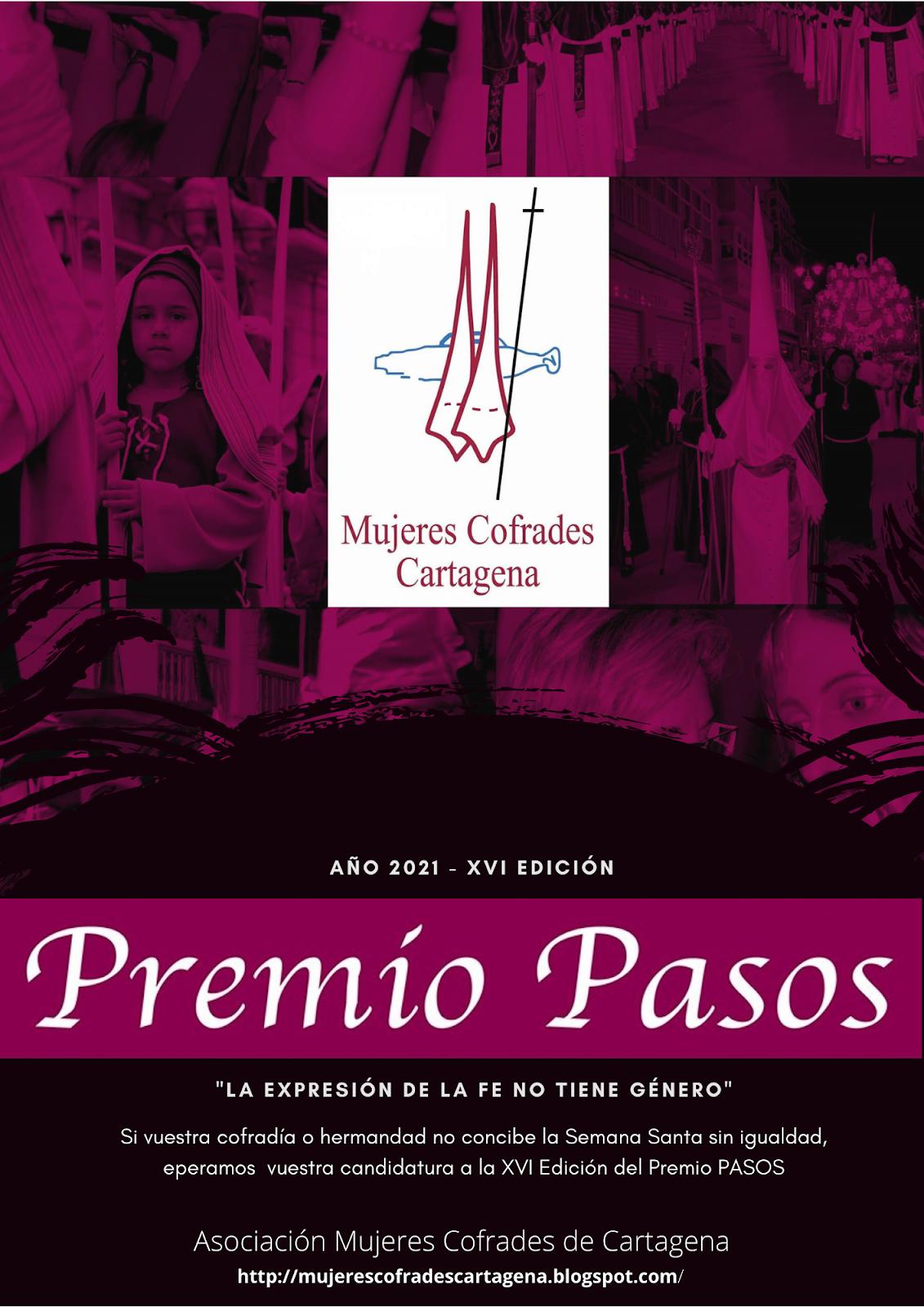 Bases convocatoria Premio PASOS 2021