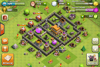 municipio lvl 4 Clash of clans