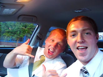 Elder Lee and Elder Harper