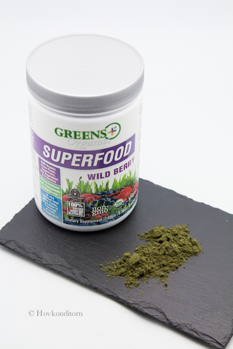 Greens Plus Organics Superfood Powder