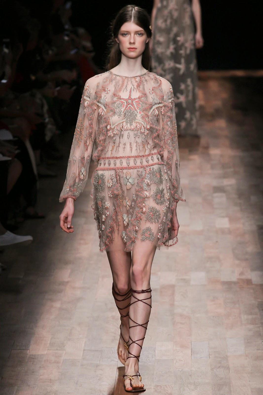 valentino 2015 summer 2016 trend women dress91 Valentino 2015 samling, våren sommaren 2016 Valentino klänning modeller, Valentino kväll klänning nya säsongen kvinnors kjolar modeller