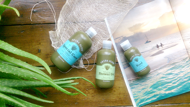 Aruba Aloe - Aloe Vera Beauty Product - Peaches and Bear Travel Lifestyle Beauty Blogger