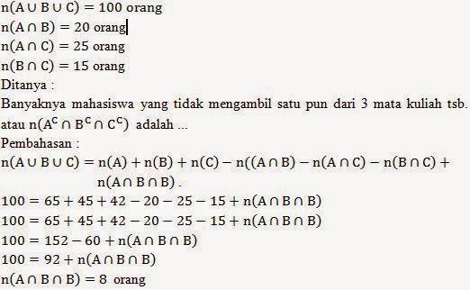 Soal jawaban diagram venn 3 himpunan gema private solution 120 orang ccuart Choice Image