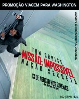 """Promoção """"Missão Impossível - Nação Secreta"""" - Transamérica"""