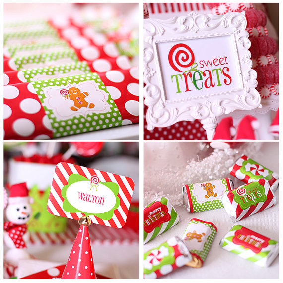 Kara's Party Ideas Candy Land Christmas Party