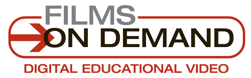 logo for films on demand, digital educational video