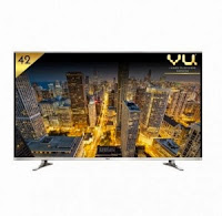 Buy Vu 42D6475 107 cm (42) LED TV Rs. 23990 (Exchange) or Rs. 26990 : Buy To Earn