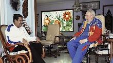 Fidel Castro reaparece después de su 88 cumpleaños en un encuentro con Maduro