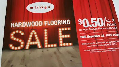Mirage Hardwood Flooring Sale. $0.50/sq.ft. Rebate 2015 - NJ New Jersey NYC New York