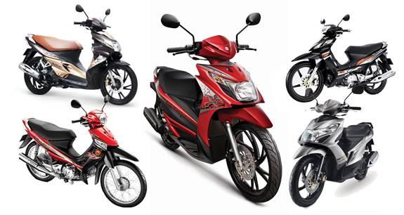 Xe máy Suzuki 2013