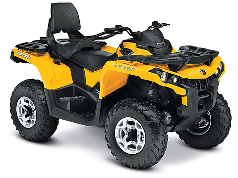 2013 Can-Am Outlander MAX DPS 650 ATV pictures. 480x360 pixels