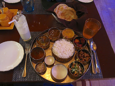 Non-veg thali at Zambar Pune