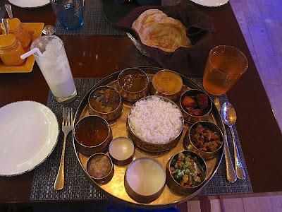 Non-veg thali at Zambar Pune