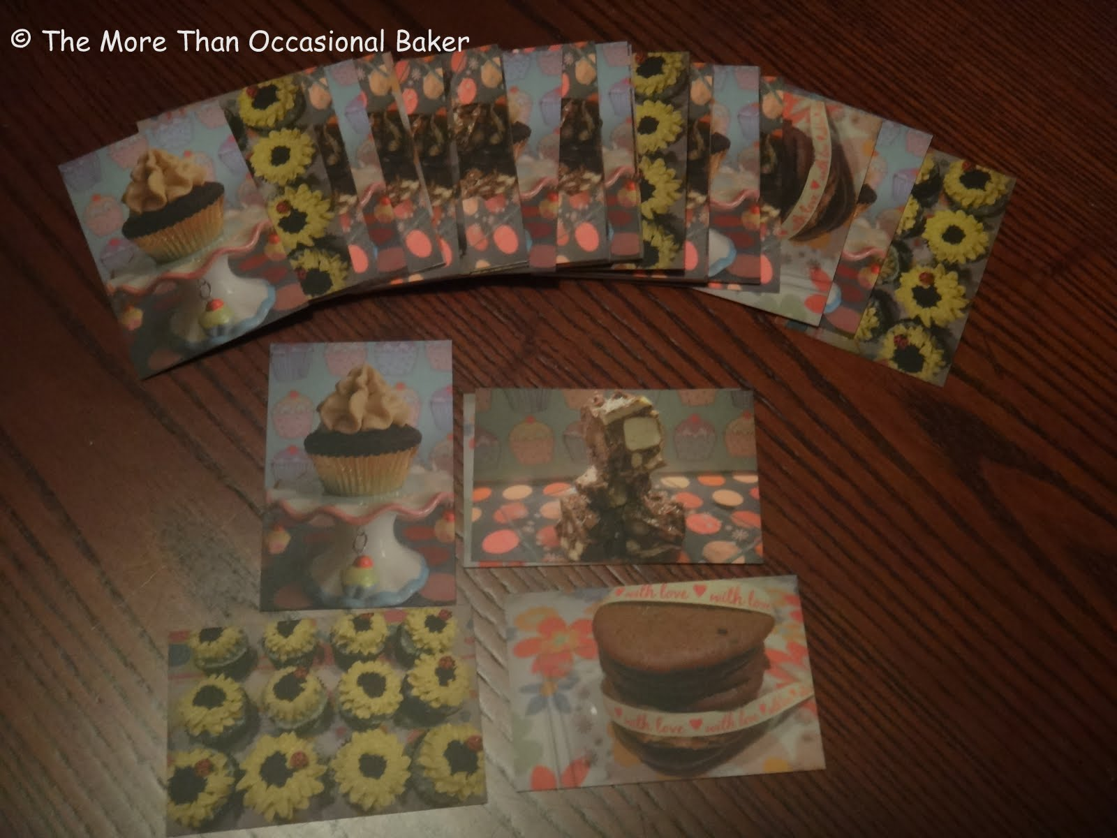 the more than occasional baker moo business cards review and giveaway