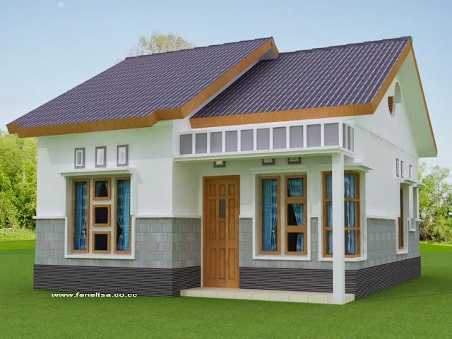 Gambar Depan Model Rumah Minimalis Sederhana
