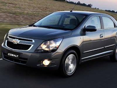 Chevrolet lança Cobalt com novo motor