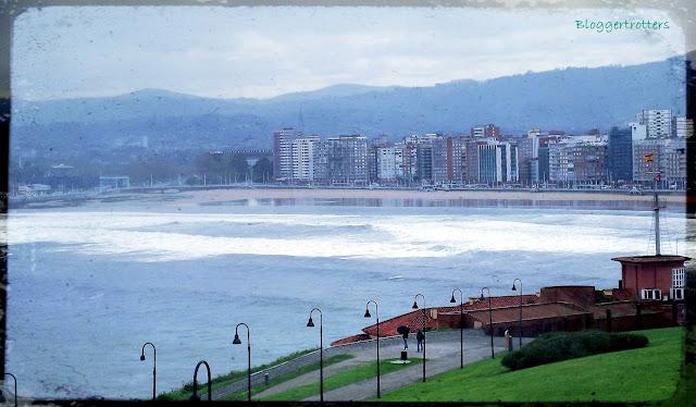 Bloggertrotters Gijón cerro santa catalina