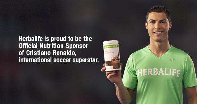 Herbalife vs Cristiano Ronaldo
