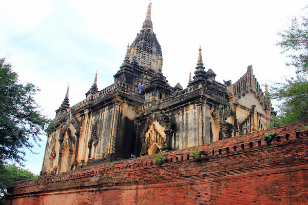 Templo Shwe Gu Gyi - Bagan
