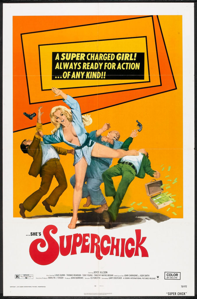 SUPERCHICK (1973, starring BLOG TO COMM 677x1024 Movie-index.com