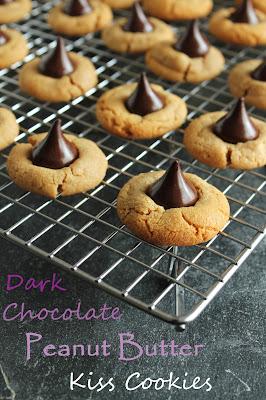 Hershey's Special Dark Peanut Butter Kiss Cookies
