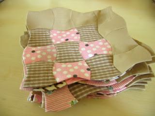 Klokhuis quiltblokken
