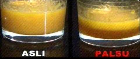 Cara mengecek madu asli dengan terlur