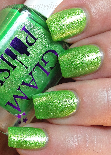 Glam Polish Tinkerbell swatch and review