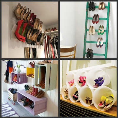 Organize it a little tipsy - Ideas for organizing shoes ...