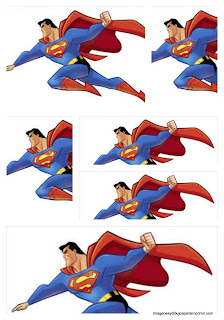Superman to print labels