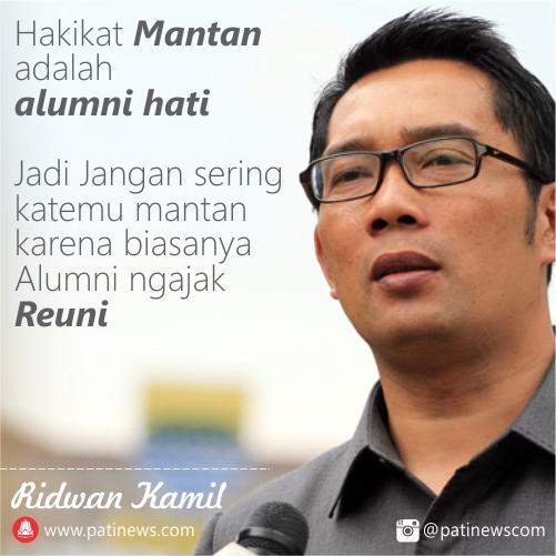 Kumpulan DP BBM Kata Mutiara Ridwan Kamil