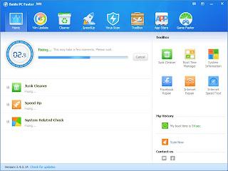 Cara mempercepat komputer dengan Baidu PC Faster-5