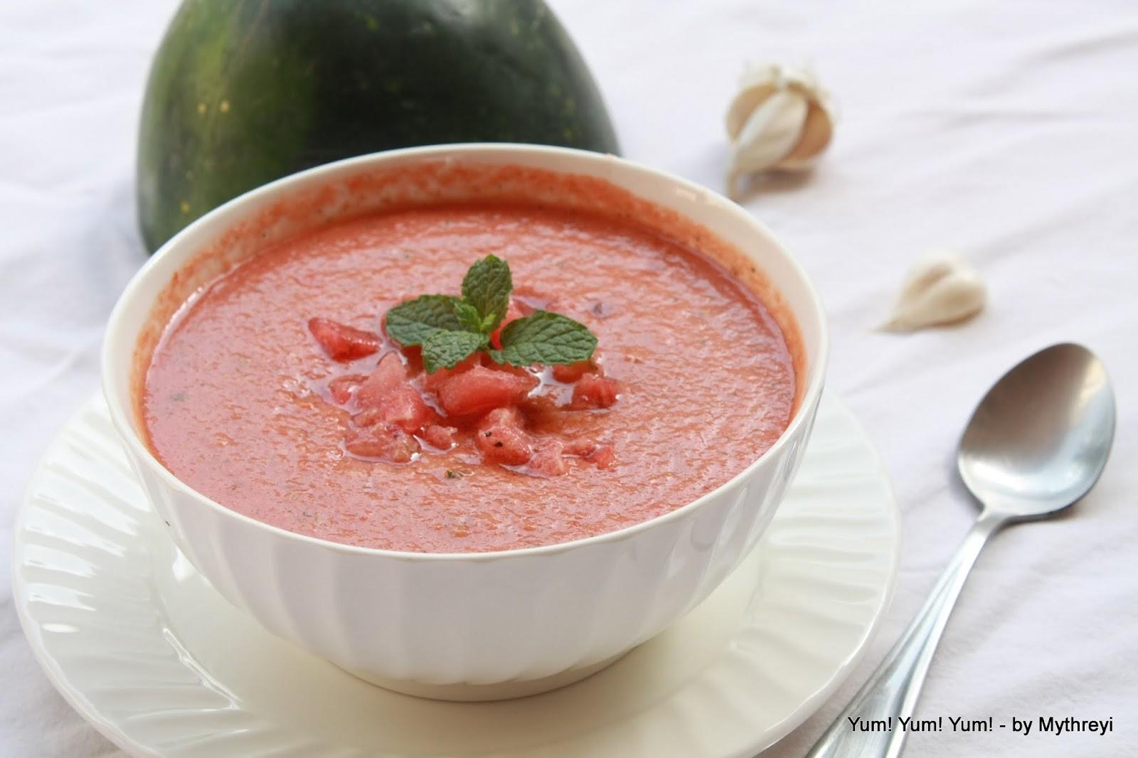 Yum! Yum! Yum!: Watermelon Gazpacho