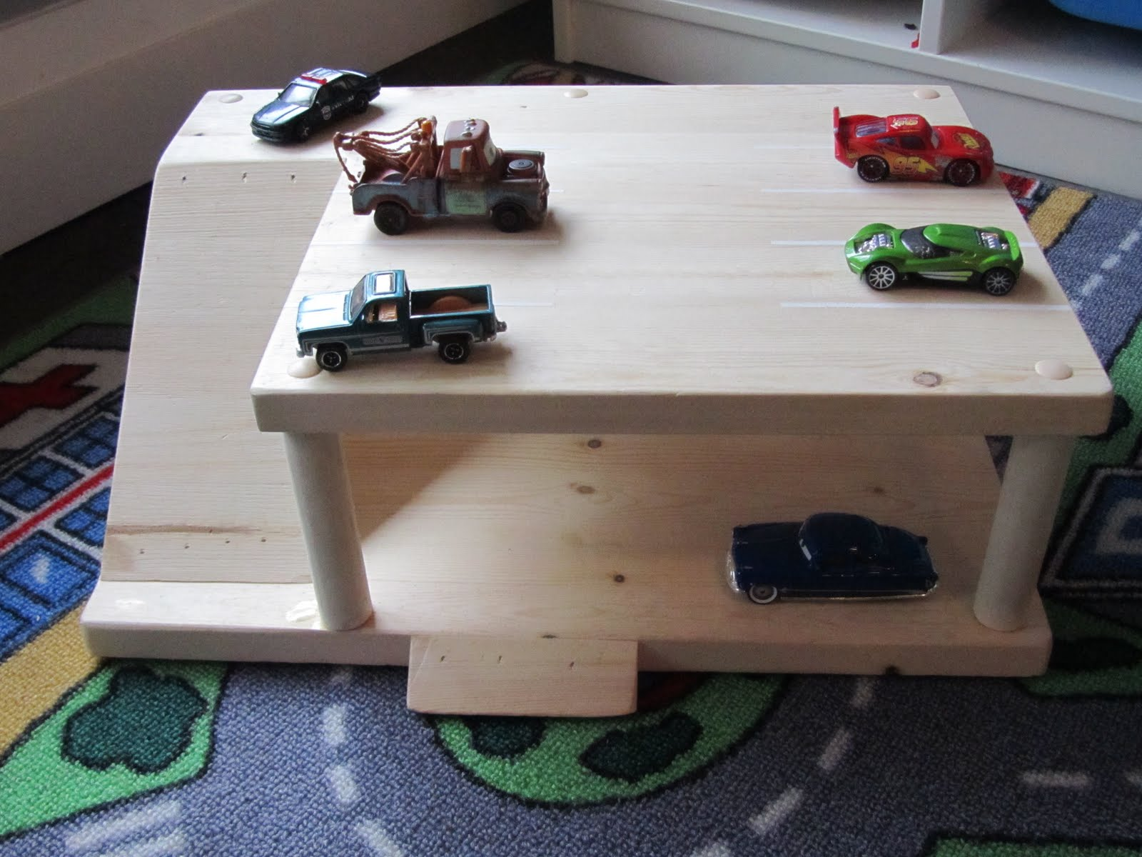 Wooden Toy Car Garage : My type of ordinary parking garage